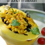 Mexican Stuffed Spaghetti Squash Recipe
