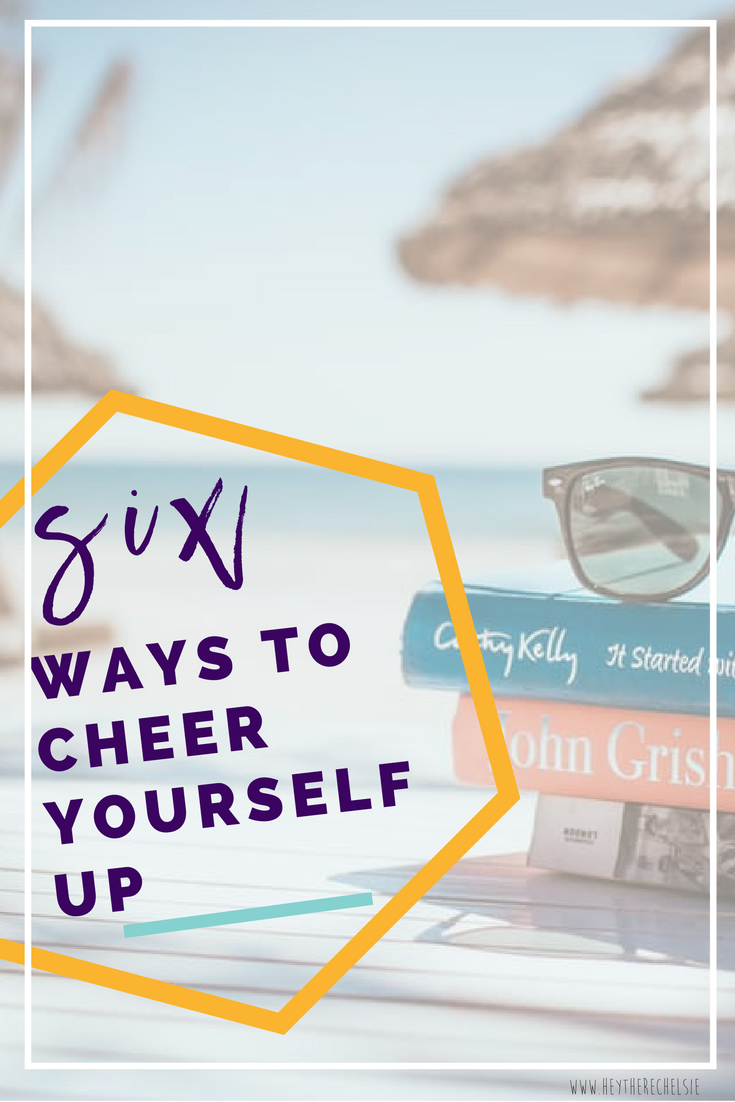 Life can be tough, but so are you! If you're having a bad day, bad week, or bad month, know that you are not alone! Then, go TREAT YO'SELF! Here are 6 sure-fire ways to cheer yourself up! // Hey There, Chelsie