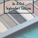 In and Out – September Edition
