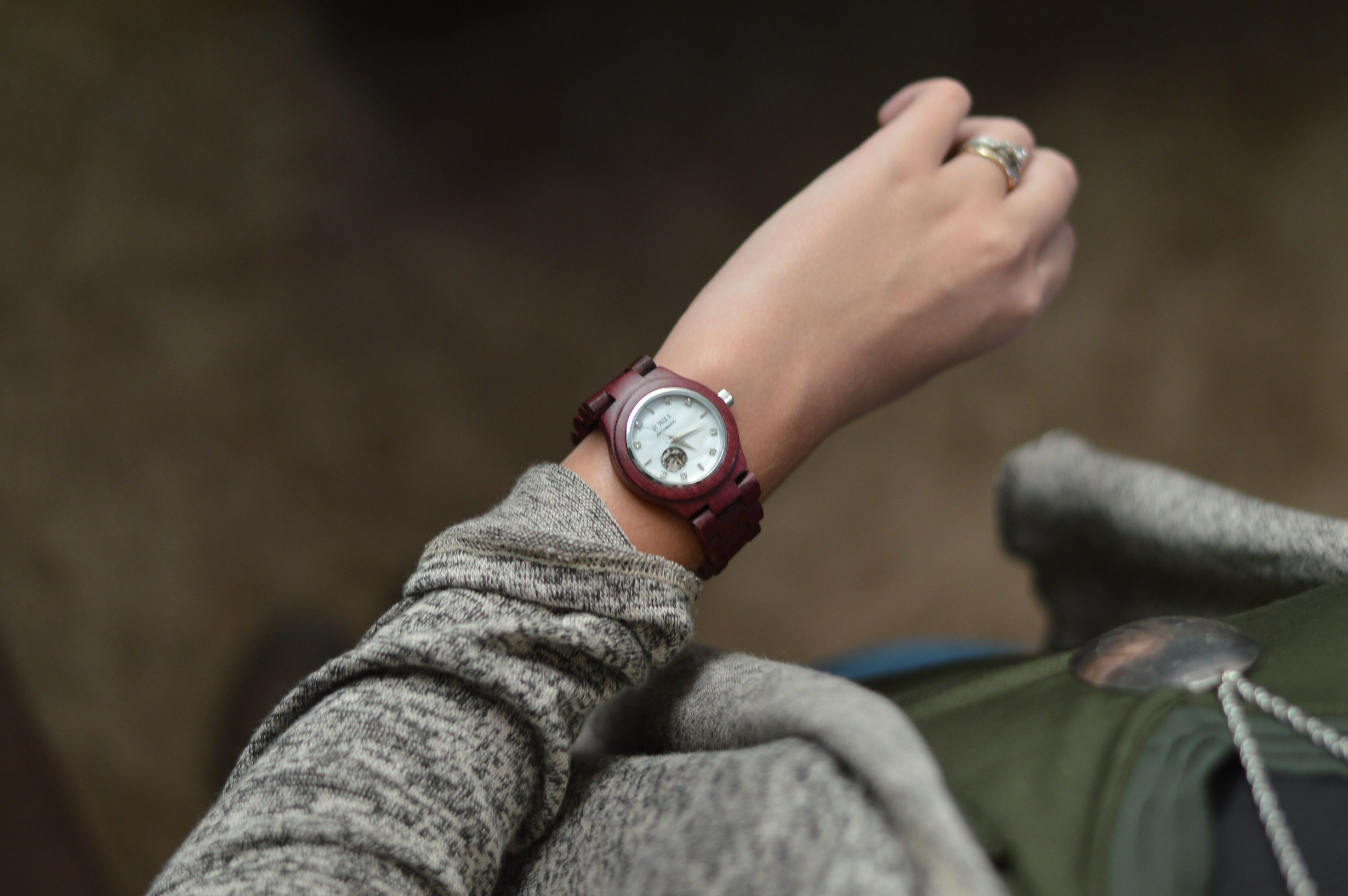 The Perfect Fall Accessory: JORD Watches // Life with Rosie #ad #JORDwatch #woodenwatch