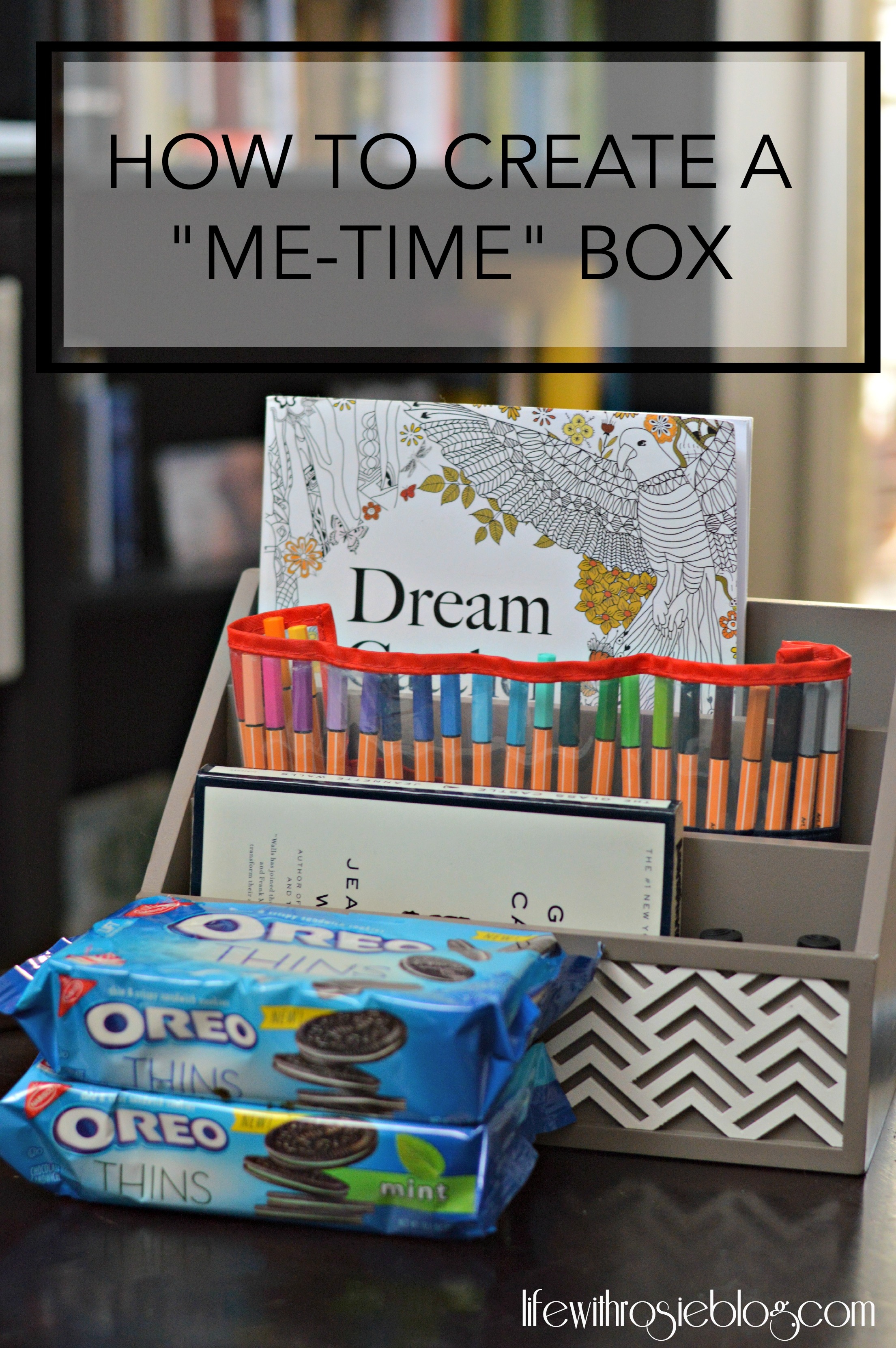 How to Create a Me-Time Box #ad #OREOthinsarein // Life with Rosie