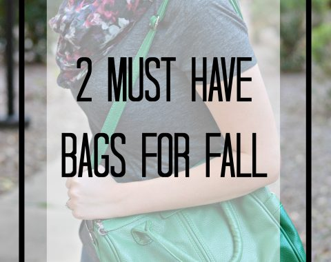 2 Must Have Bags for Fall - Click here for a guide to the three handbags that are essential to anyone's fall wardrobe. // Life with Rosie [ad] #fallfashion