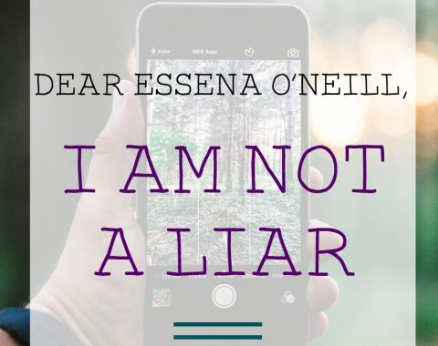 Dear Essena O'Neill, I am not a liar. Is Instagram and social media all lies? // Life with Rosie