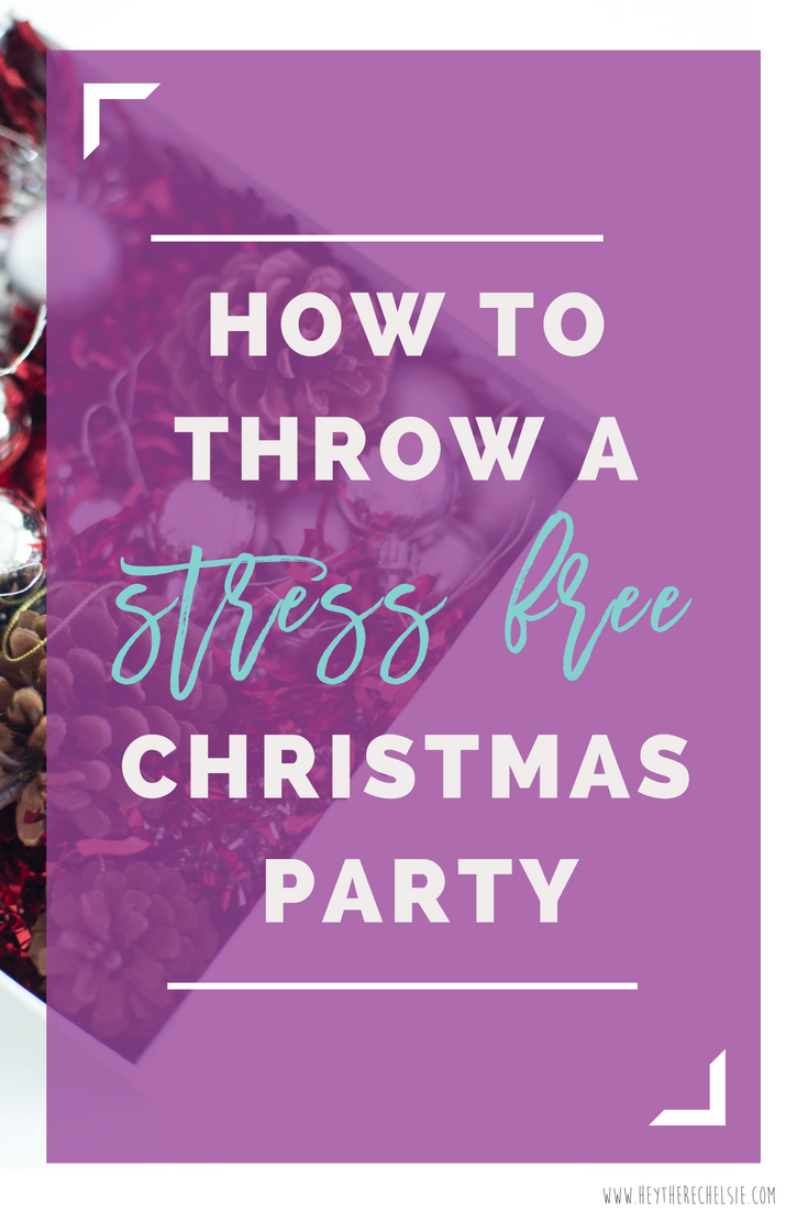 How To Throw A Stress Free Christmas Part U0026 A Super Easy DIY Wrapping Paper  Table