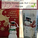 Festive Holiday Date Night + Tasty Homemade Hot Cocoa Recipe