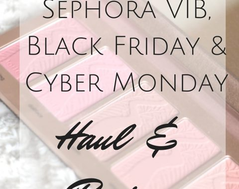 Sephora VIB, Black Friday & Cyber Monday Haul from Sephora, Ofra Cosmetics, It Cosmetics, BH Cosmetics and House of Lashes. Haul and Reviews // Life with Rosie