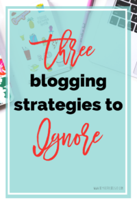 The HTC Yearly Blog report where I examine all of my successes from the year on the blog, the strategies that worked and the strategies that didn't work. Here are three blogging strategies that I (and everyone else) should ignore! It's bad advice and it won't help your blog grow organically! // Hey There, Chelsie