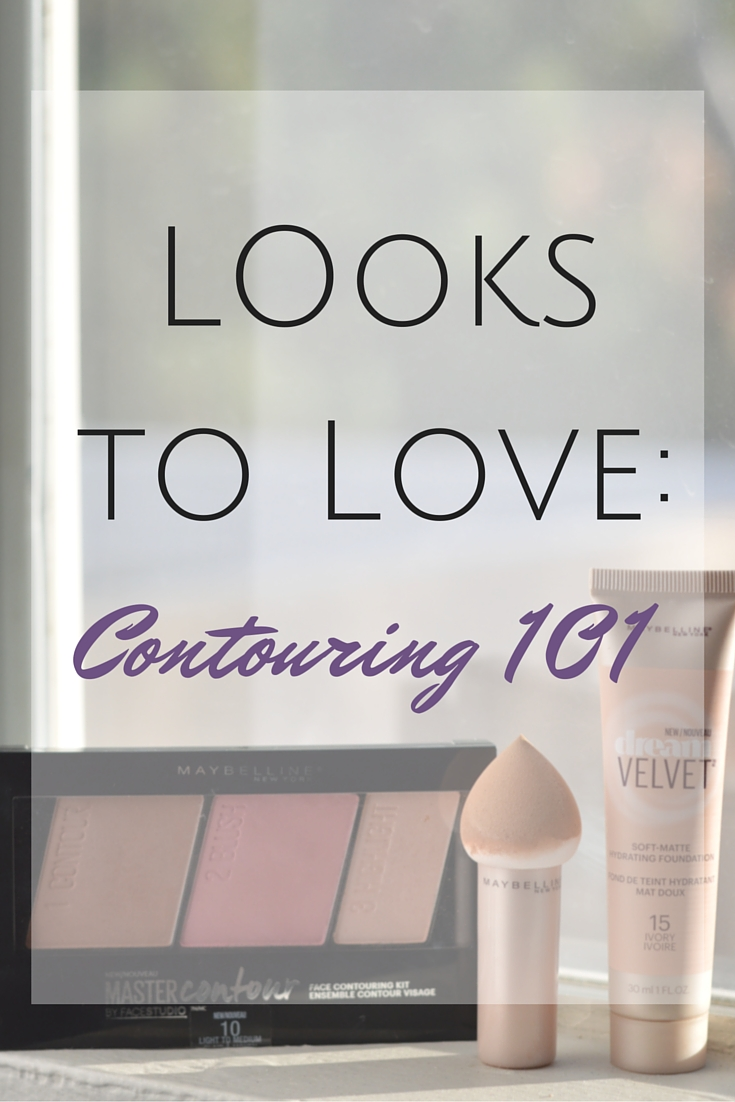 Looks to Love: Contouring 101. Intimidated by the contouring trend? This post breaks the contour method down into easy steps that anyone can achieve! // Life with Rosie #ad #MNYlookstolove