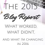 The 2015 Blog Report: What Worked, What Didn't and What's Changing