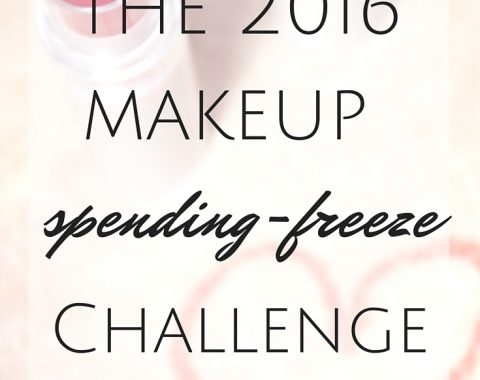 The 2016 Makeup Spending Freeze Challenge. I'm cutting down my trips to the makeup store this year and laying out a plan to do it! // Life with Rosie