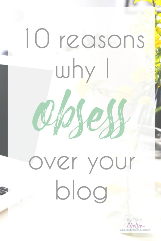 Bloggers are always looking for ways to grow their audience, but they really should be looking at how they can KEEP their audience coming back for more. Today, I'm sharing 10 reasons why I obsess over a blog and 10 blogs I obsess over. This post will teach any blogger exactly what they can do to get their readers obsessing (and sharing) their blog! // www.heytherechelsie.com