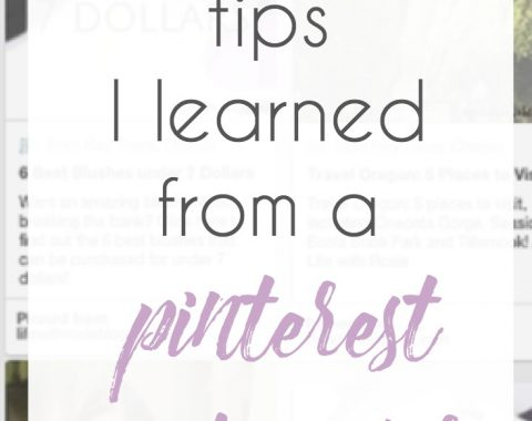 Wanting to grow your Pinterest, but not quite sure where to start? I got to attend a conference where a Pinterest ambassador spoke and learned a ton of actionable tips and tricks to grow my Pinterest and my blog! In the last 4 weeks, I've grown my Pinterest impressions by 19%! Check out these surefire ways to grow you Pinterest following and bring more eyes to your content // www.heytherechelsie.com