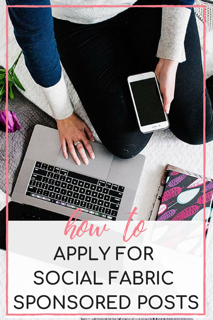 How to make money off your lifestyle blog by pitching projects in the Blog Network Social fabric! This post has a free ebook with exact pitch templates to use for getting paid sponsored posts through Social Fabric // Hey There, Chelsie
