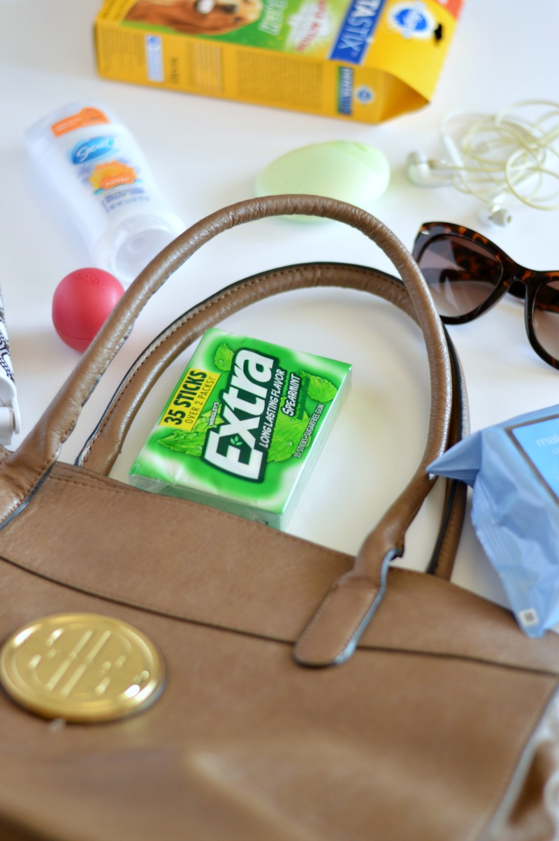What to pack in your road trip bag: all of these items are essential to having a safe road trip and move and will also help you keep your sanity while driving. Keep a bag filled with gum, sunnies and