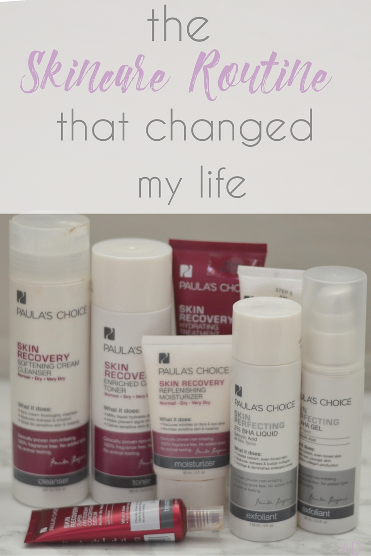 The Skincare Routine that Changed my Life. Looking for skin care products that actually work AND are affordable? It's hard to believe, but I found a skin care routine that fits both! My life has been completely changed by this routine! Find out more here // Hey There, Chelsie