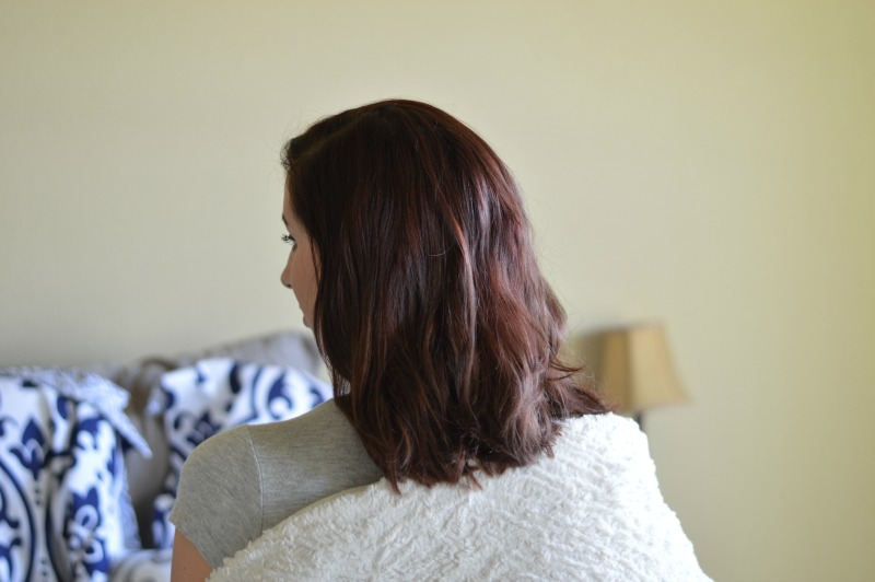 Why & How I Changed my Red Hair featuring the Brilliant Brunette® Visibly Deeper™ Colour Deepening Shampoo and Brilliant Brunette® Visibly Deeper™ Colour Deepening Conditioner // #ad #RethinkYourColour