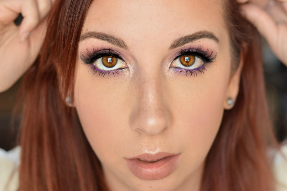 Makeup Look using the Too Faced Peanut Butter & Jelly Palette // Hey There, Chelsie