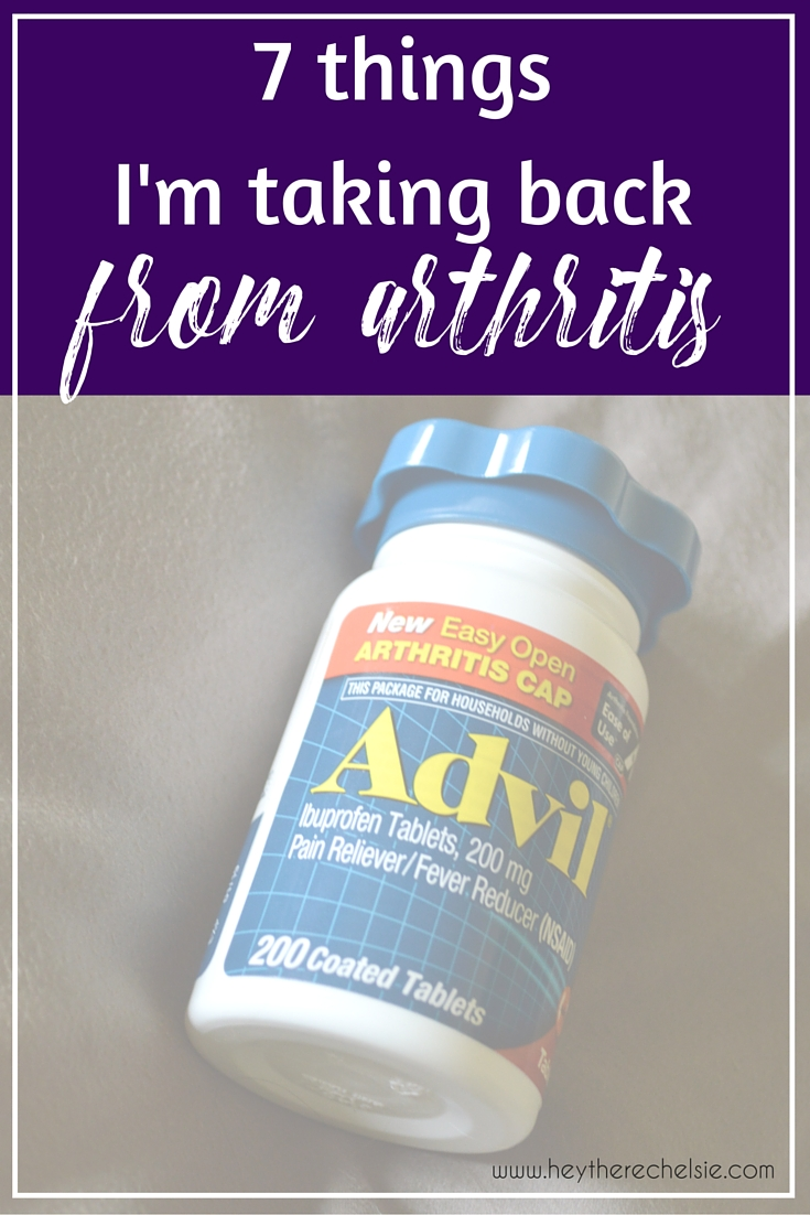 7 Things I'm Taking Back from Arthritis