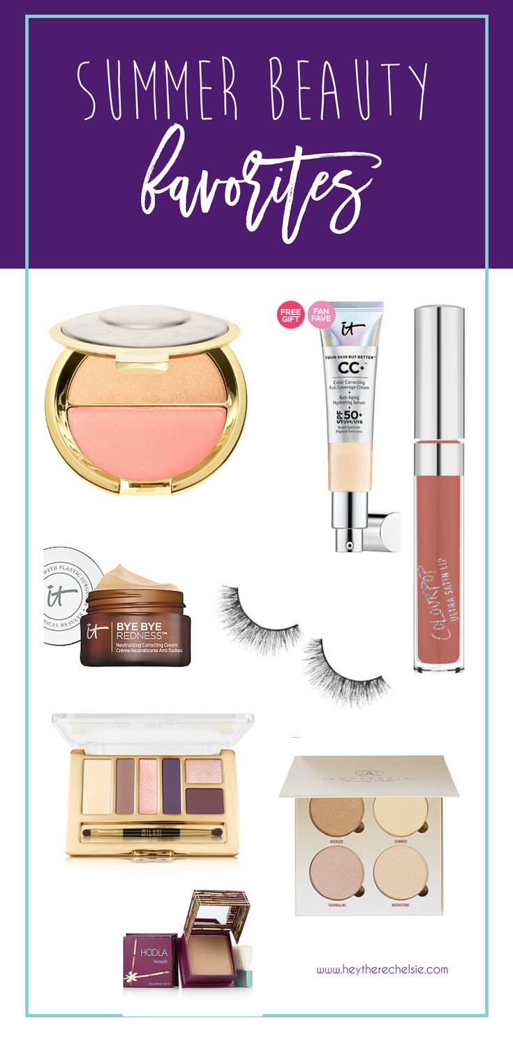 Summer 2016 Beauty Favorites (and fails!) These beauty products were the best finds of summer 2016, and these products can be used year round! Be sure to check out what products failed as well, so you don't waste your money // Hey There, Chelsie