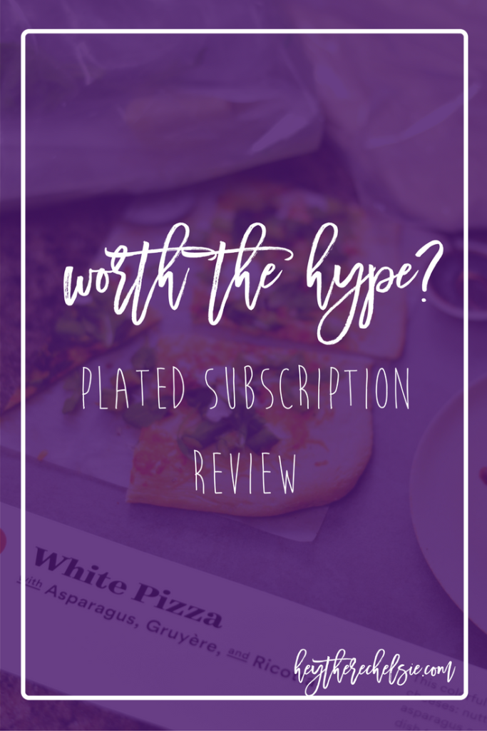 Worth the Hype? Giving a thorough review of the food subscription service Plated, sharing how it works, what meals we tried out and my over all opinion on if it's worth the hype. Plus, get a free meal if you decide to try it out! // Hey There, Chelsie