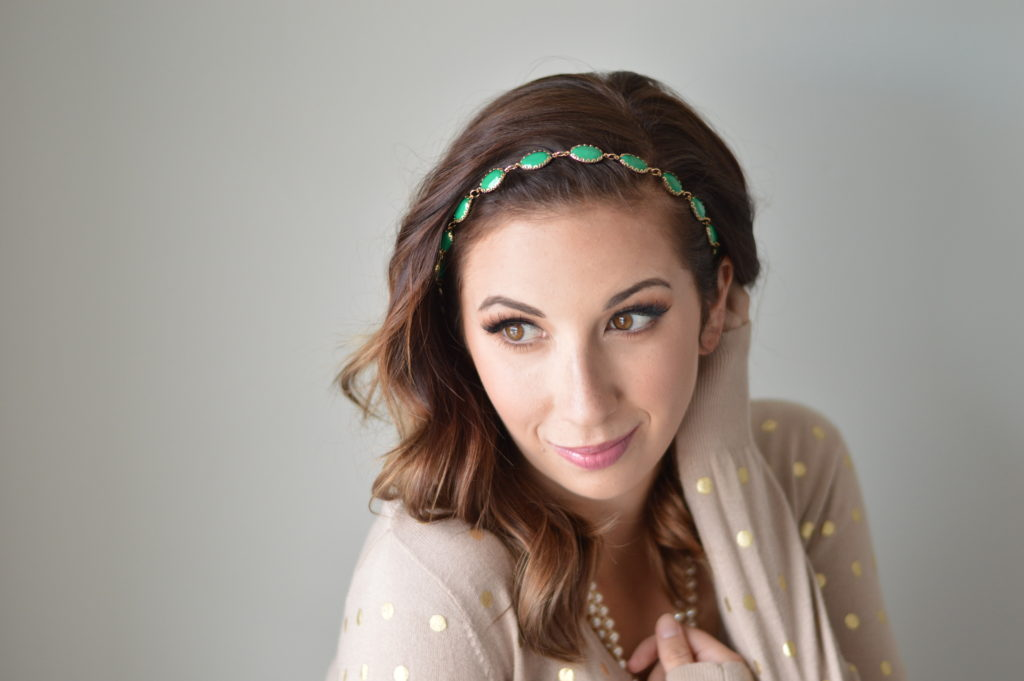 Headbands of Hope Green Headband // Hey There, Chelsie