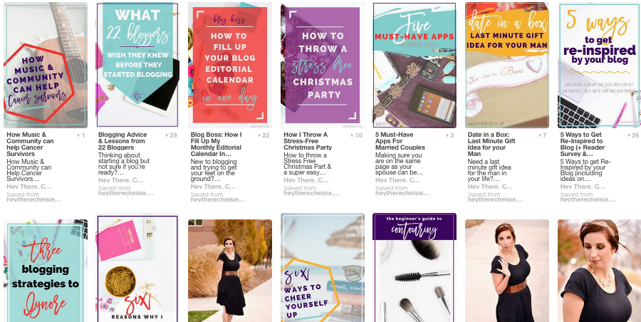 Blogging Goals, Stats & Income Report: Why it's important to re-do Pinterest Images