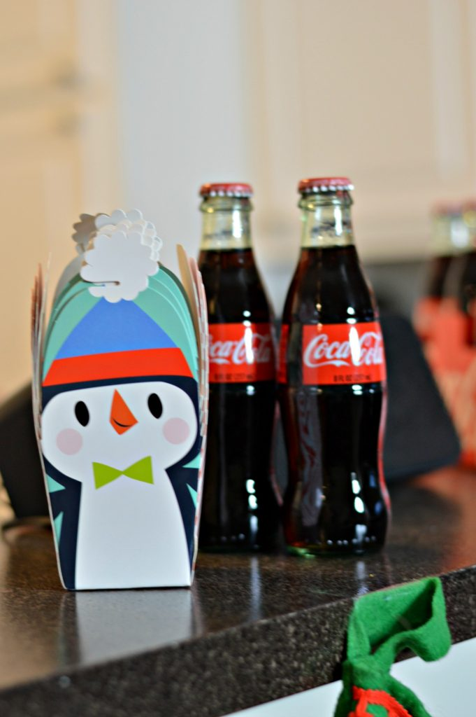 10 Tips to Become a Fantastic Holiday Host featuring Coca-Cola. This create-your-cup bar helps prevent a cup disaster during your holiday party! // Hey There, Chelsie