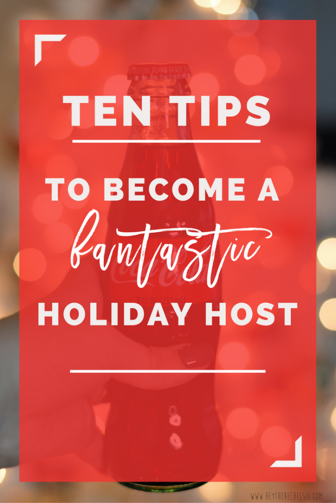 Ten Tips to Become a Fantastic Holiday Host (and not be stressed out!) Featuring a fun and easy create-your-cup tutorial so that no one forgets where their cup is! #ad #savorthememory // Hey There, Chelsie