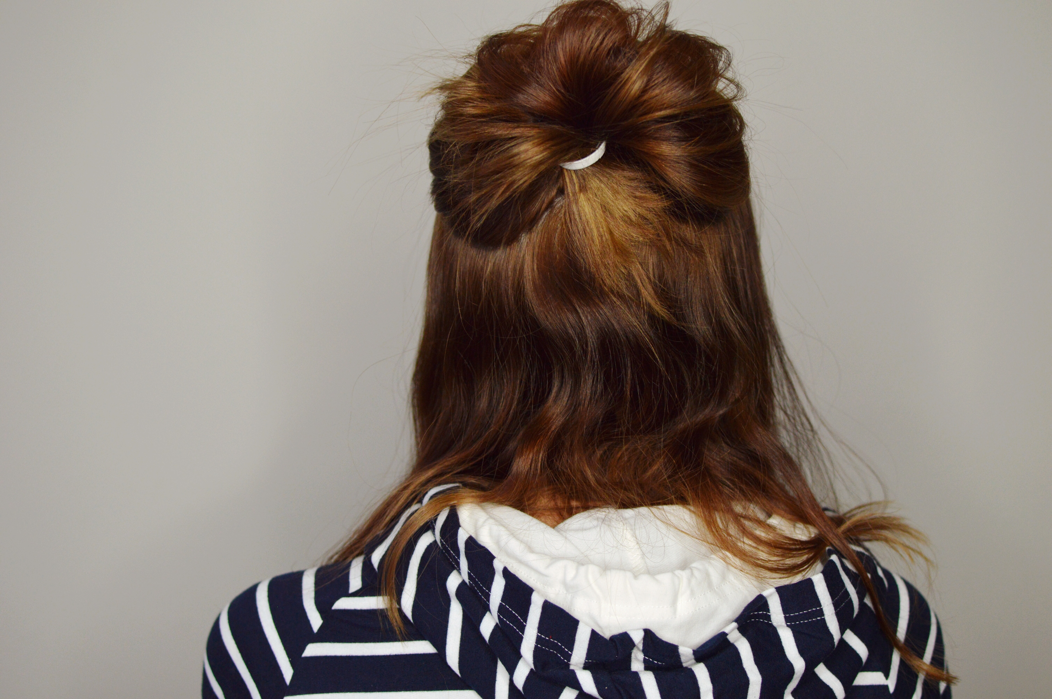 Double Messy Bun Hair Tutorial & review of the Monat Products // Hey There, Chelsie