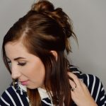 Double Messy Bun Hair Tutorial & Monat Review