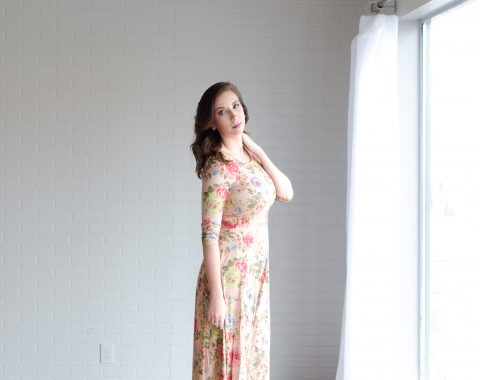 Suede Floral Maxi Dress perfect for spring and Valentine's Day from Wight Gold // Hey There, Chelsie