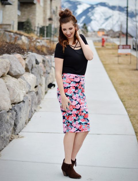 Feminine Valentine's Day Outfit Idea // Hey There, Chelsie