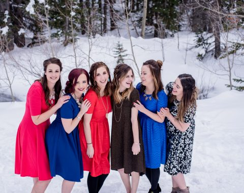 Winter to Spring Dress Style Ideas with Lularoe // Hey There, Chelsie