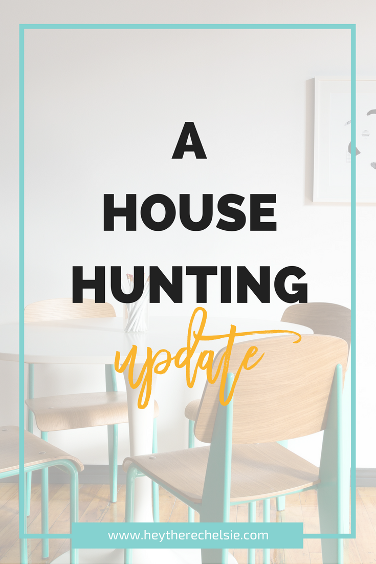A house hunting update - sharing an update on our attempt to buy a house in Utah and how it's been affecting my life, personally // Hey There, Chelsie