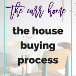 The Carr Home: The House Buying Process
