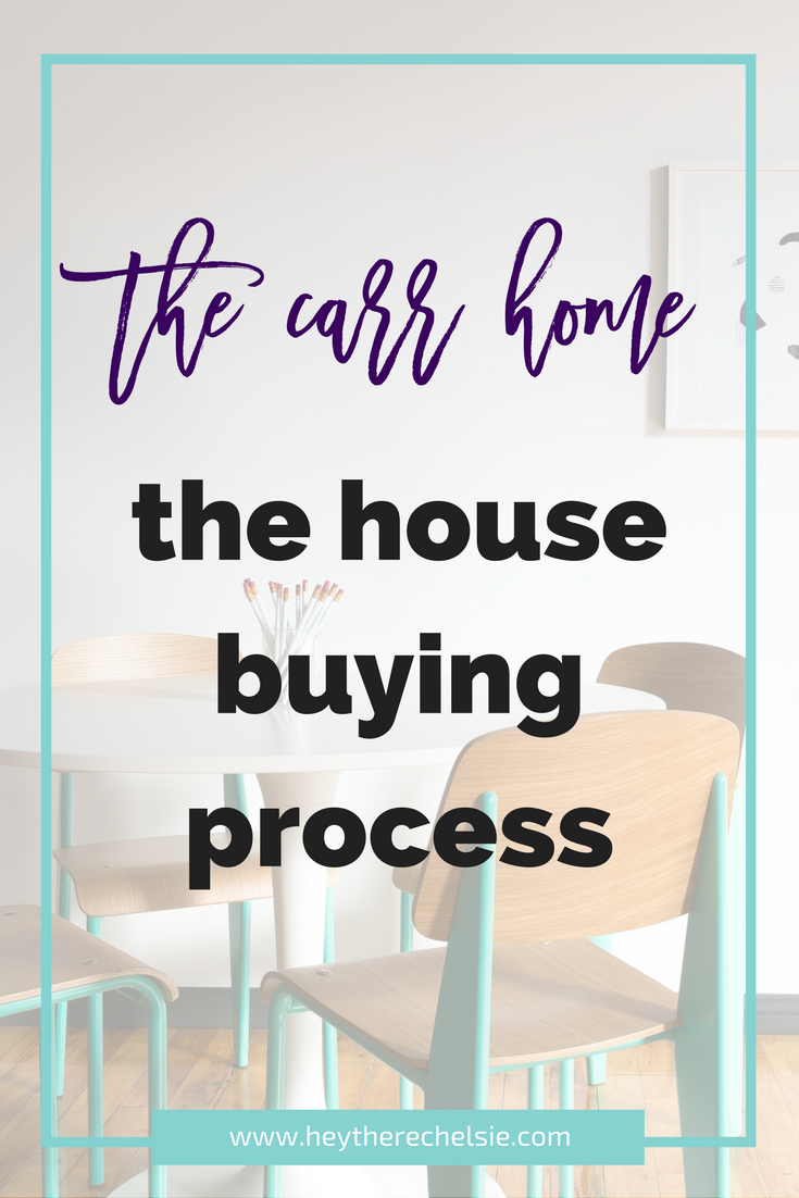 The Carr Home // The House Buying Process - a detailed account of buying our home in Utah - Hey There, Chelsie
