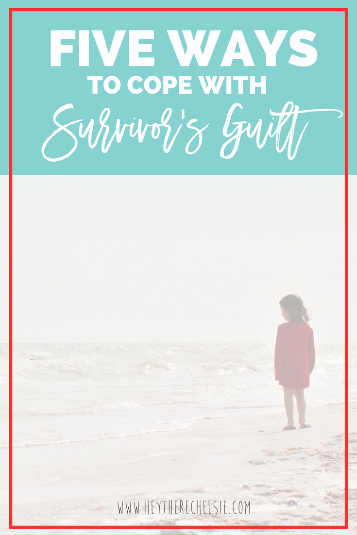 Five Ways to Cope with Survivor's Guilt // As a 10 year pediatric cancer survivor, I've dealt with survivor's guilt for as long as I can remember. I've decided that I was done letting it drag me down, so here are five ways I've been coping with it. // Hey There, Chelsie