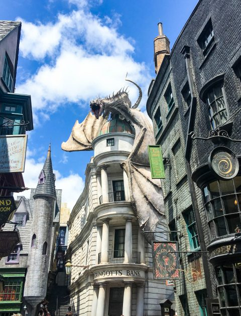 The Ultimate Guide to the Wizarding World of Harry Potter in Universal Studios Orlando: Diagon Alley.