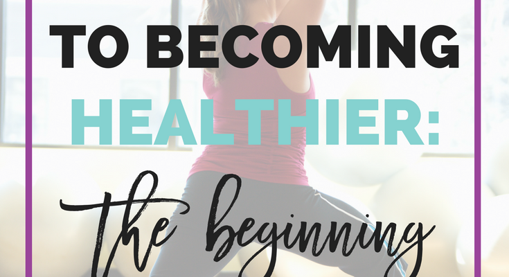 My Journey to Becoming Healthier: The Beginning