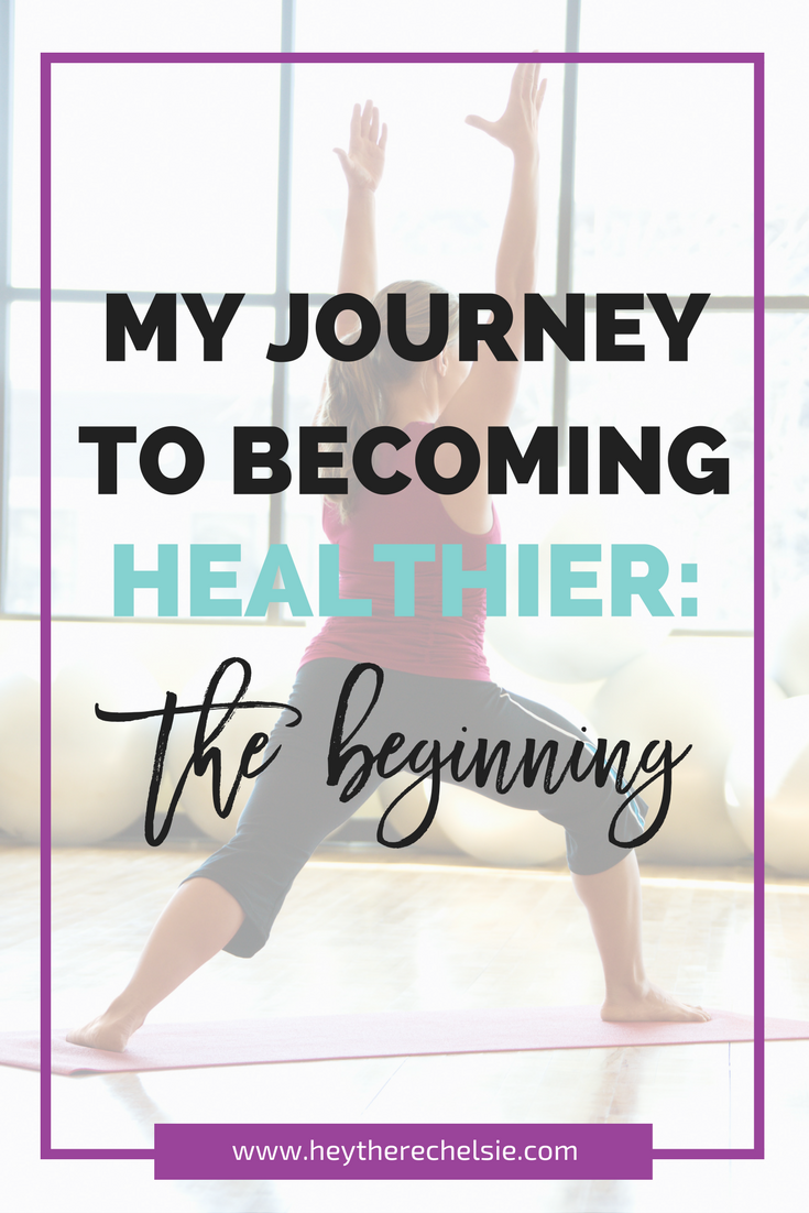 Opening up about my journey to become healthier and why I'm starting now (after neglecting it for 11 years.) If you are a cancer survivor struggling with wanting to take care of your body, this post is for you // Hey There, Chelsie