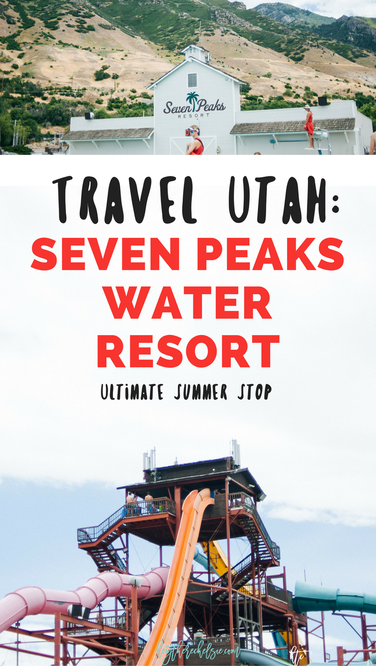 Travel Utah - Seven Peaks Water Resort - the ultimate summer stop. This is a great place to check out if you are traveling through Utah in the summer // Hey There, Chelsie