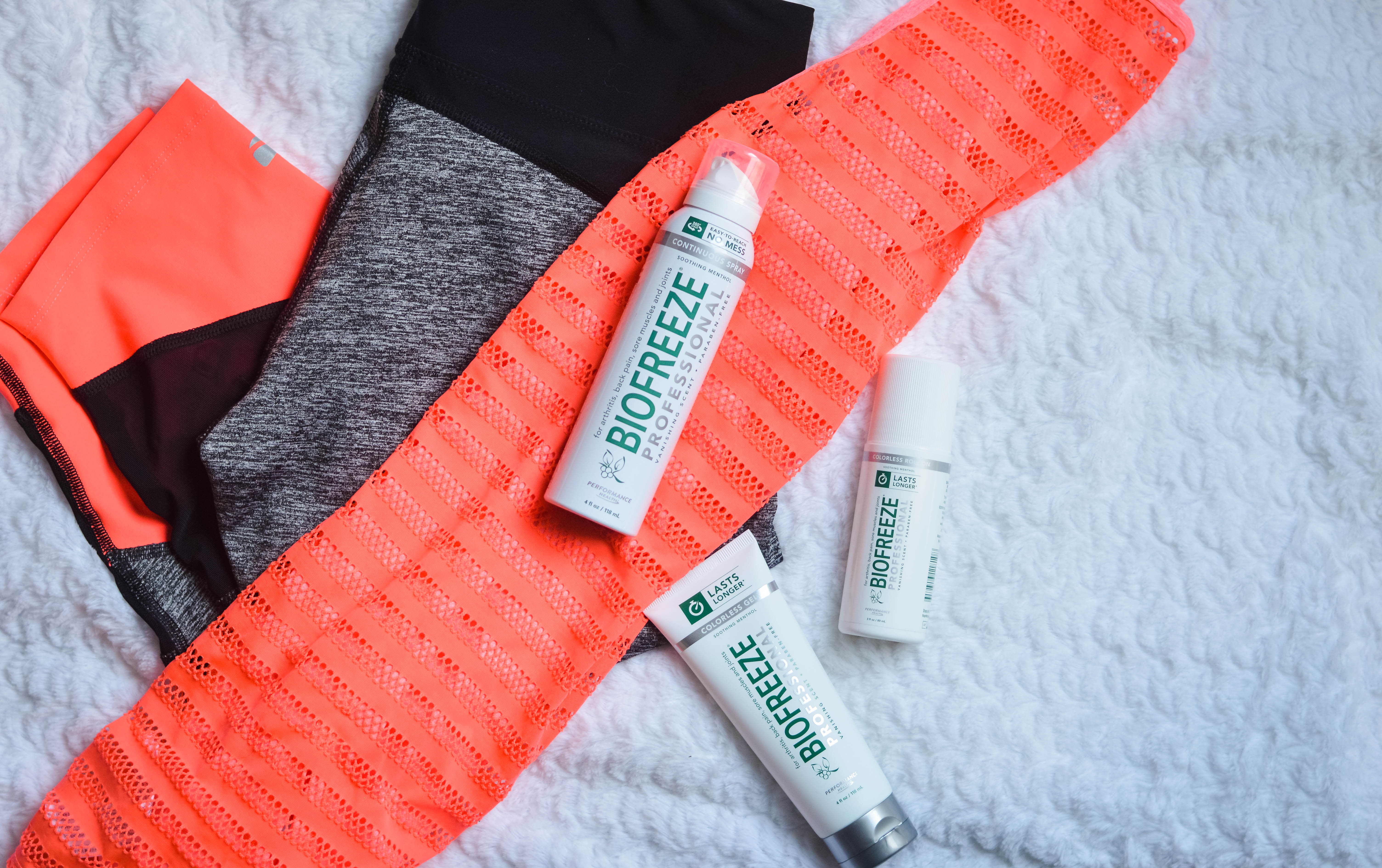 A Fitness Journey Update – Managing Pain with Biofreeze®
