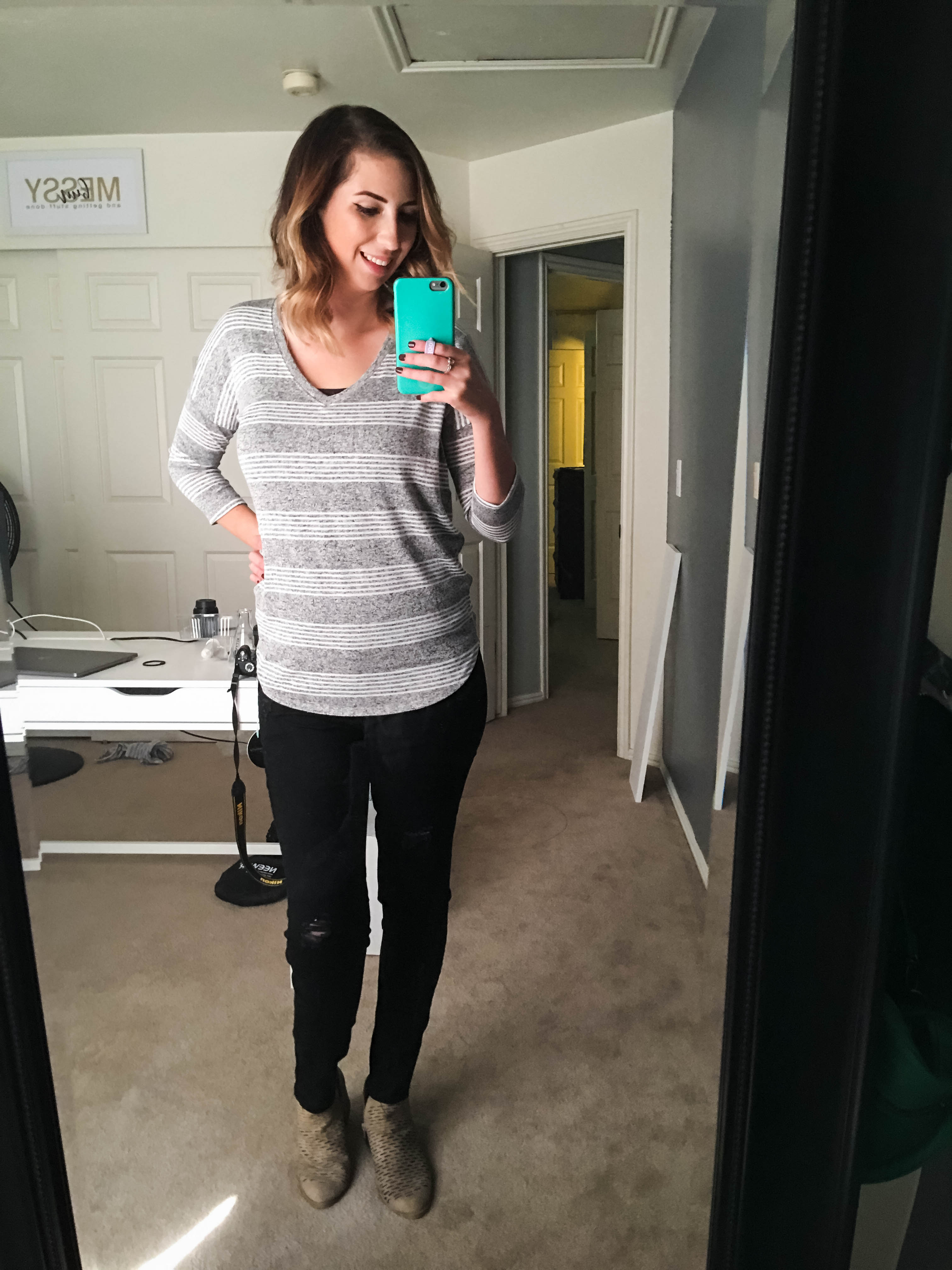 Fall Stitch Fix Reveal // Hey There, Chelsie