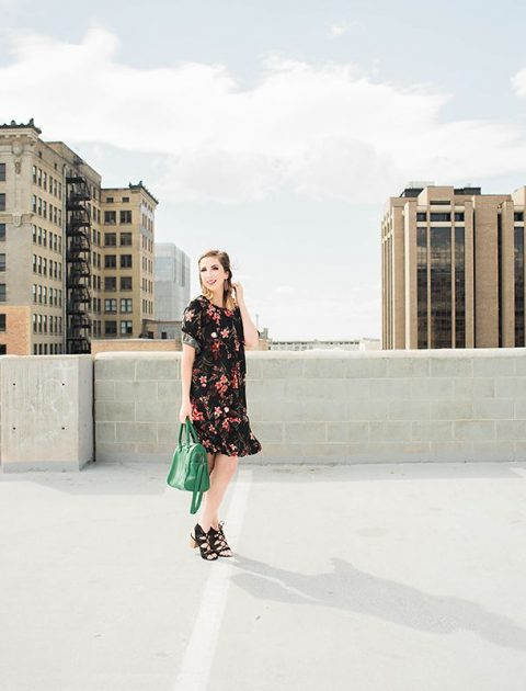 Fall Dress and Fall Style // Hey There, Chelsie