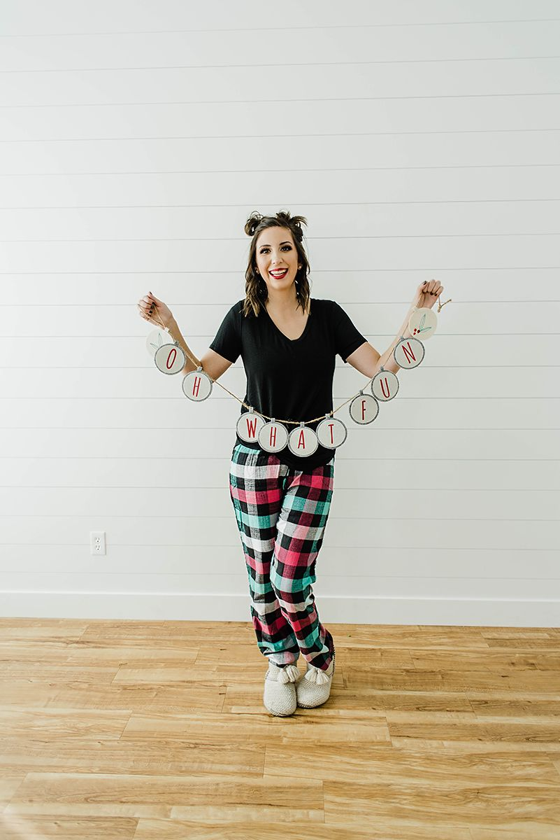 Christmas Pajama Ideas for Women // Hey There, Chelsie