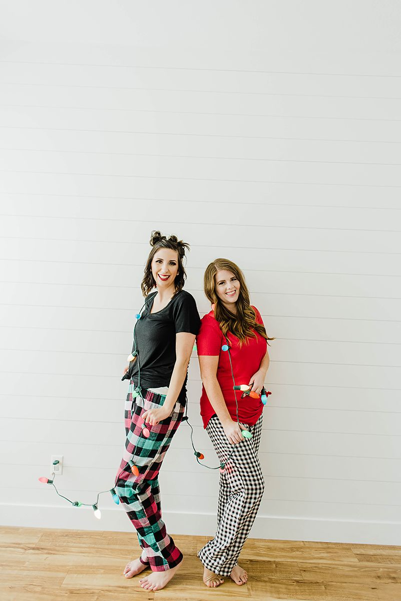 Matching PJ's/Pajamas for Women // Winter Pajama Ideas for Women - Hey There, Chelsie