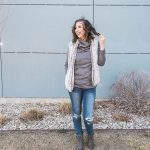 Stretch your Closet: 3 Ways to Wear a Sherpa Vest + Giveaway
