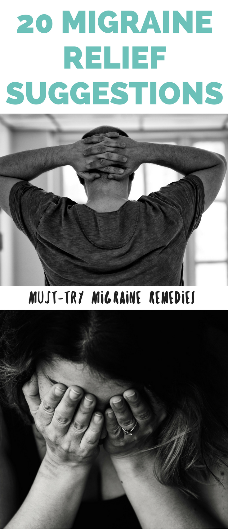 20 Migraine Relief Suggestions - how to get rid of a migraine fast, instant migraine remedies, migraine relief ideas, how to get rid of a migraine, natural migraine relief ideas // Hey There, Chelsie