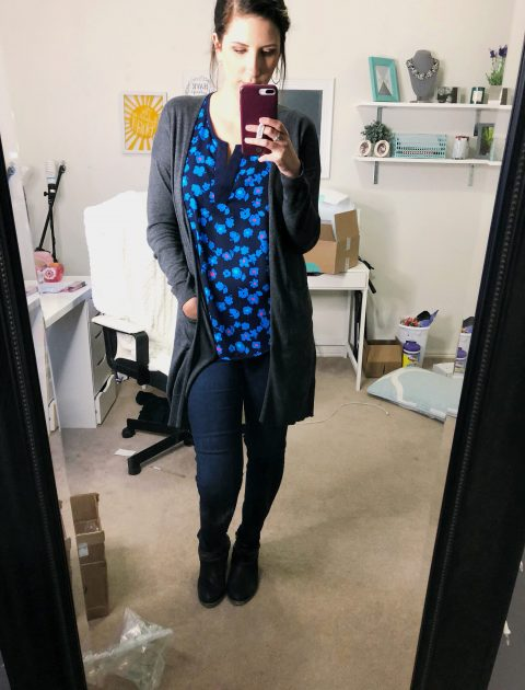 Stitch Fix Unboxing - February 2018 - Hey There, Chelsie
