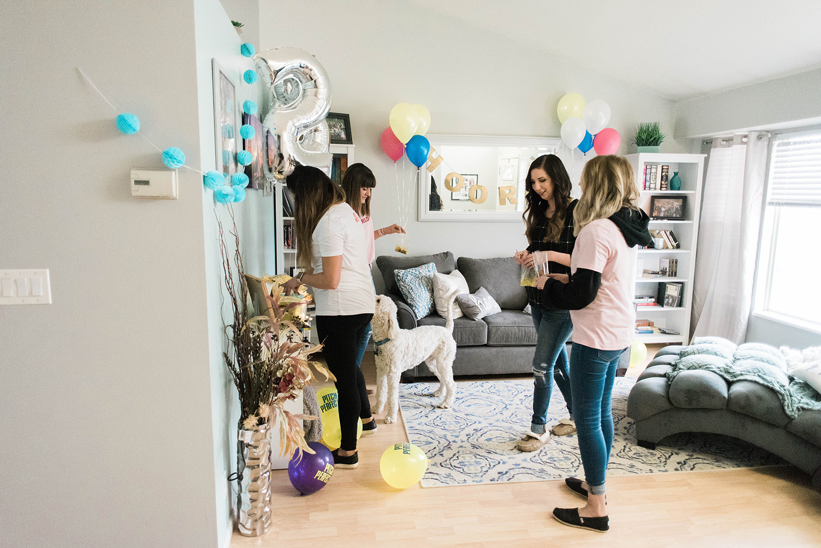 Pitch Perfect Themed Birthday Party - adult birthday party idea with trail mix bar // Hey There, Chelsie